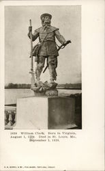 William Clark Statue