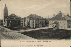 Woman's College and 1st M.E. Church