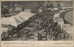 Brockton Fair Post Card