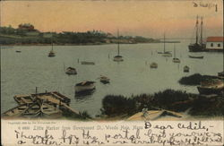 Little Harbor from Government St. Postcard