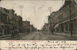 Eighth Street North From Pennsylvania Avenue