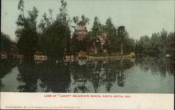 "Lake at ""Lucky"" Baldwin's Ranch"