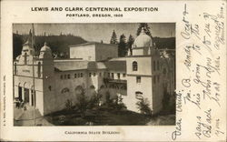 Lewis and Clark Centennial Exposition, California State Building
