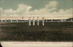 Dress Parade of the Lanciers, Camp McManus