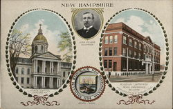 New Hampshire State Capitol and Russian-Japanese Peace Conference Building