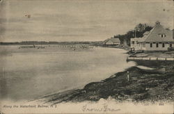 Along the Waterfront Postcard