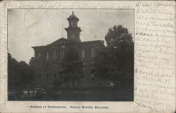 Scenes at Cardington, Public School Building