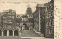 Entrance to Dormitories, University of Pennsylvania