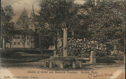 Church of Christ and Memorial Fountain