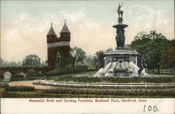 Memorial Arch and Corning Fountain, Bushnell Park