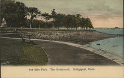 Sea Side Park. The Boulevard