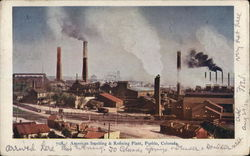 American Smelting & Refining Plant