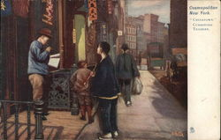 Chinatown, Curbstone Traders