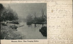 Mascoma River - Near Pumping Station