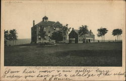 Recitation Hall and Billiman laboratory