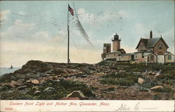 Eastern Point Light and Mother Ann