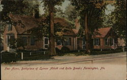 Few Acres, Birthplace of Lyman Abbott and Rollo Brooks Postcard