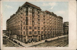 Palace Hotel, Market and New Montgomery Streets