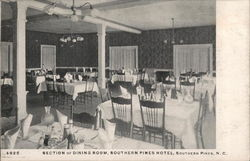 Southern Pines Hotel Dining Room