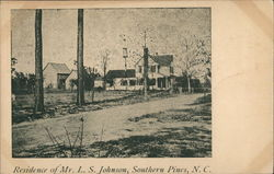 Residence of Mr. L.S. Johnson
