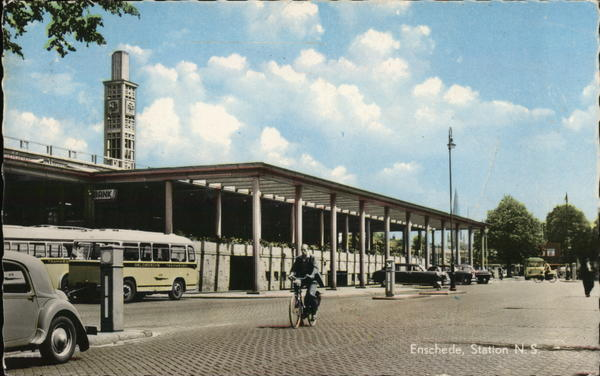 Enschede Station Netherlands Benelux Countries