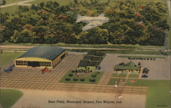 Baer Field, Municipal Airport Fort Wayne Indiana Airports