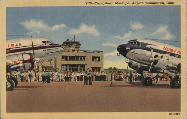 Youngstown Municipal Airport Ohio