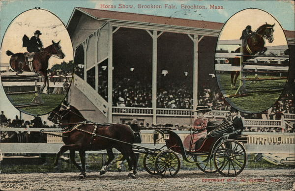 Horse Show, Brockton Fair Massachusetts