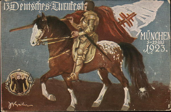 Deutsches Turnfest 1923 Munich Germany