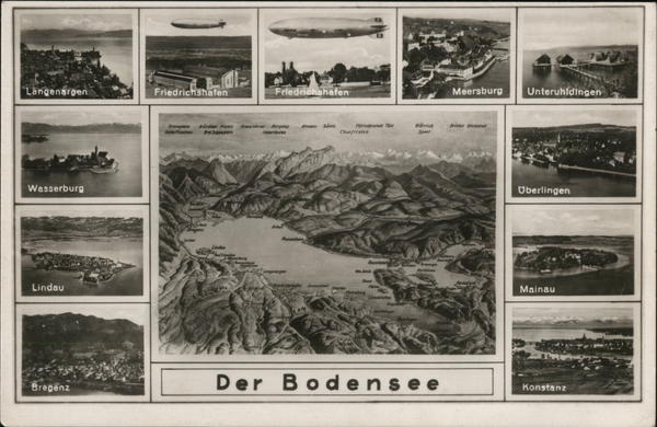 Views of Der Bodensee Lake Constance Germany
