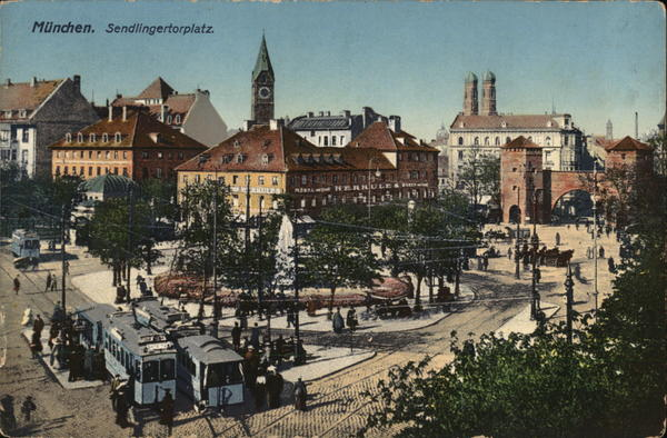 Sendlingertorplatz Munich Germany