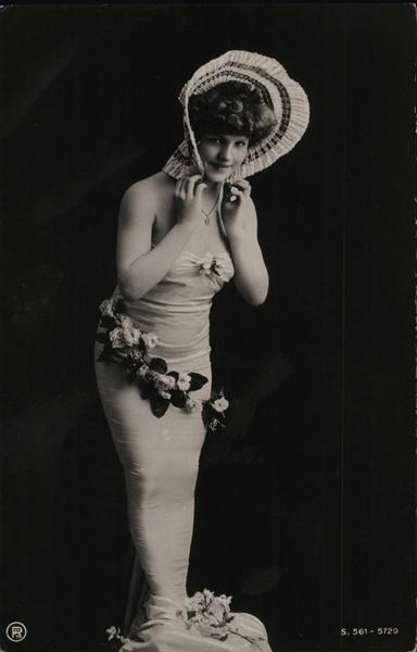 Woman Posing in Mermaid Costume Women