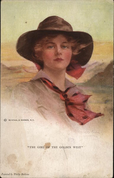 The Girl of the Golden West, Cowgirl Women