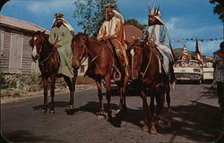 The Three Wise Men on Horseback