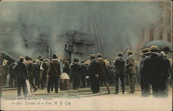 Crowd at a Fire