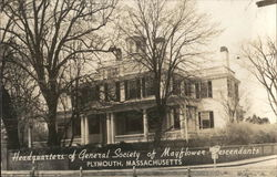 Headquarters of General Society of Mayflower Descendents