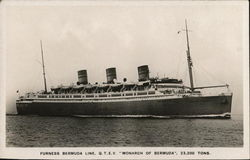 "Furness Bermuda Line, Q.T.E.V. ""Monarch of Bermuda"""