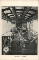 Hi Majesty's Saloon on Imperial Government Railway