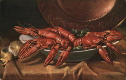 Lobster Still Life