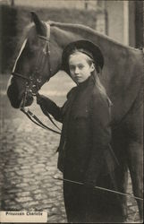 Princess Charlotte with Horse