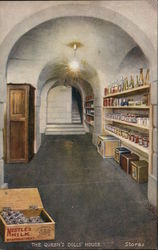 The Queens' Dolls' House, Stores in Cellar