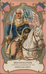 Washington Taking Command of the American Army