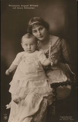 Princess August Wilhelm with her Little Son