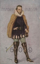 Hendrik Hudson - 1609
