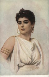 Portrait of Woman in Toga