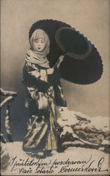 Snow Costume Postcard