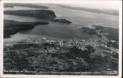 Village of Rossport, Site of Annual Fish Derby Postcard