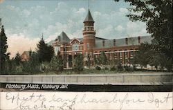 Fitchburg Jail Postcard