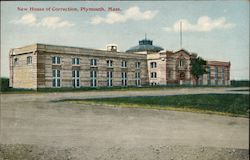 New House of Correction Postcard