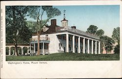 Washington's Home Postcard